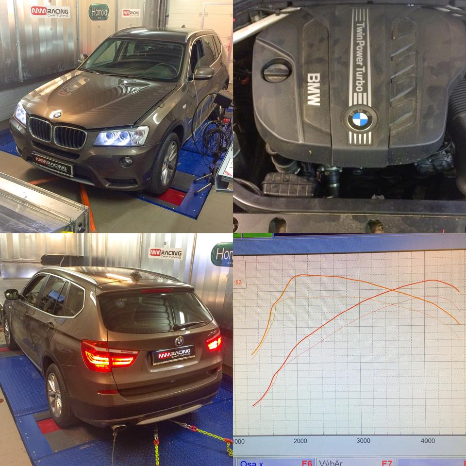 BMW 2.0d 184HP / 380Nm MM RACING - chip tuning.