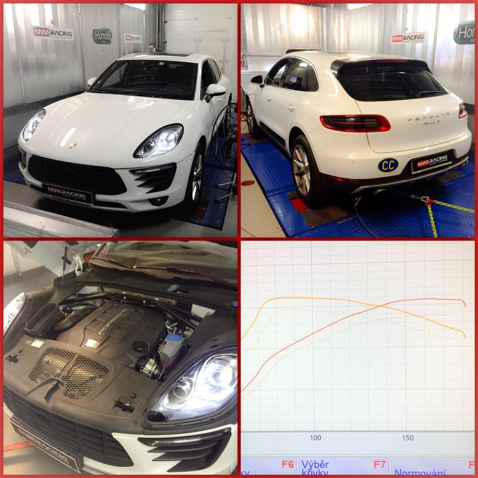 Porsche Macan 3.0TDI MY2015 # 310HP/650Nm powered by MM RACING
