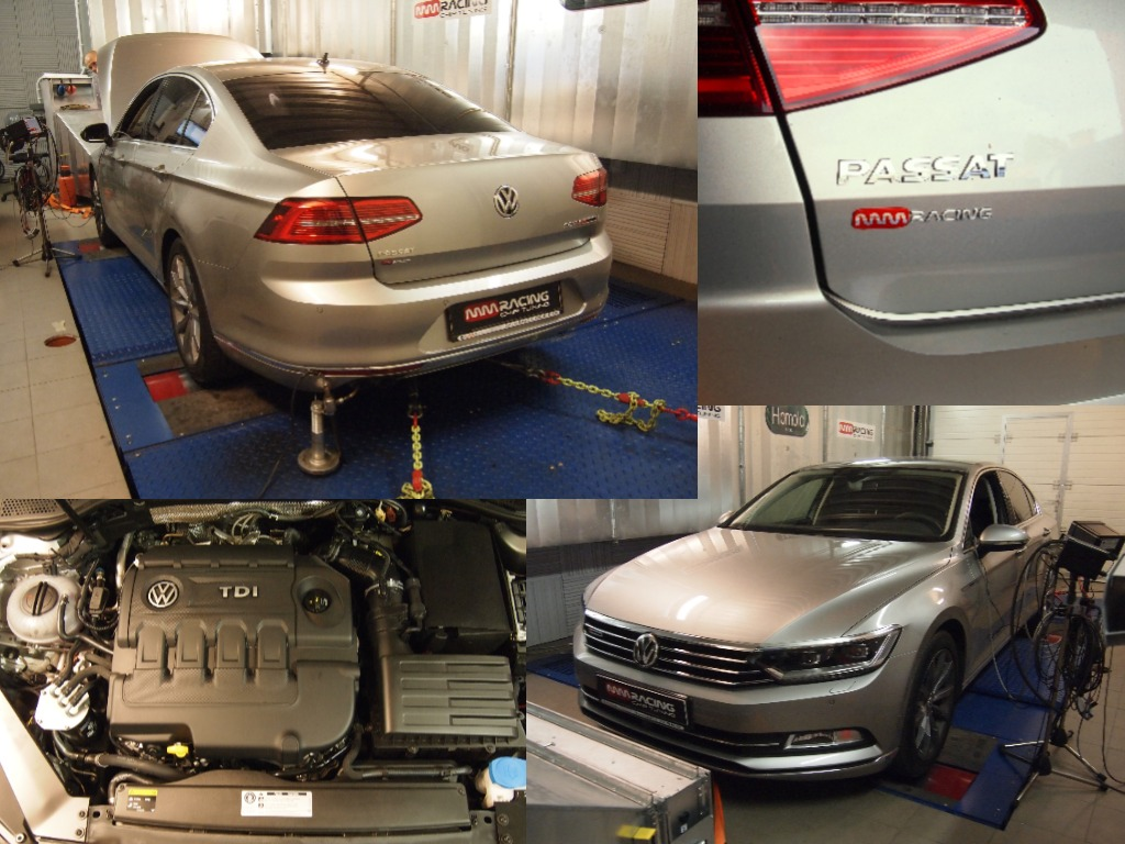 passat b8 20tdi 140kw powered by mmracing