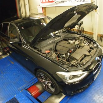 meranie výkonu BMW 116i 2013 pred chiptuningom
