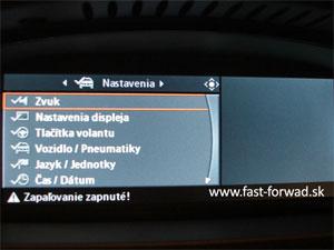 Slovenčina do BMW i-Drive