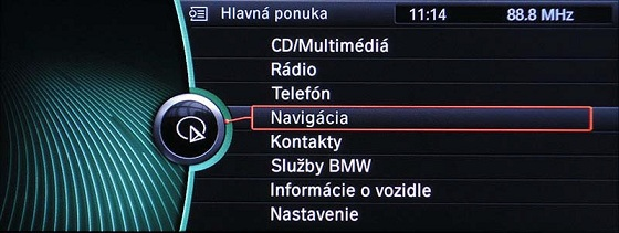 Slovenčina do BMW i-Drive CIC