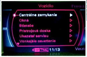 Slovenčina do AUDI MMI