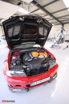 systém preplňovania motora BMW M3, MMRACING chiptuning