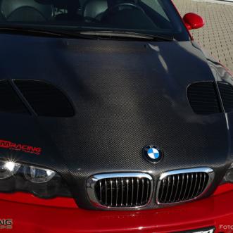 karbónová predná kapota BMW M3 MMRACING chiptuning