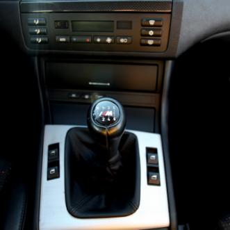 karbónová záslepka miesto rádia BMW M3 MMRACING
