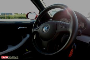 interiér BMW M3 MMRACING