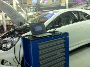 finálne programovanie po dokončení kalibrácie Opel Corsa OPC v MMRACING chiptuning