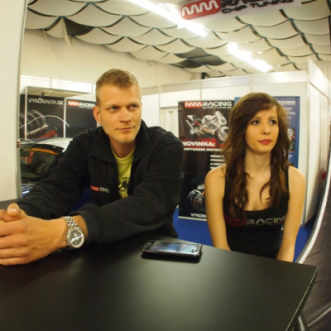 MMRACING na výstave Autosalón Bratislava 2012