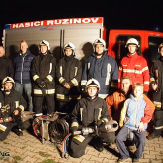 záchranársky tím v MM RACING chiptuning na cvičení
