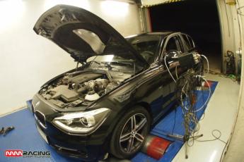 meranie výkonu BMW 116i 2013 po chiptuningu